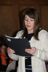 Solistin Anastasija Tereschenko